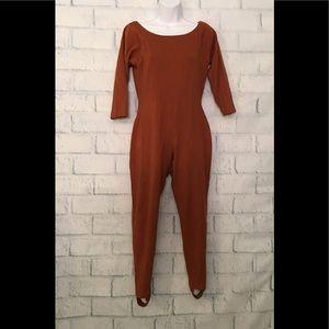 Andrea Jovine chestnut bodysuit